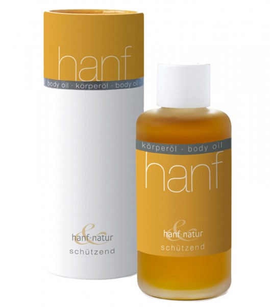 Körperöl schützend - hanf & natur