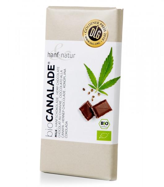 Schokolade Cannalade Vollmilch - hanf & natur