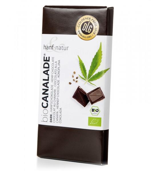 Schokolade Cannalade Dunkel - hanf & natur