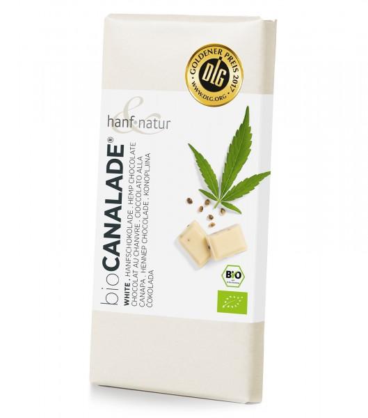 Schokolade Cannalade Weiß - hanf & natur