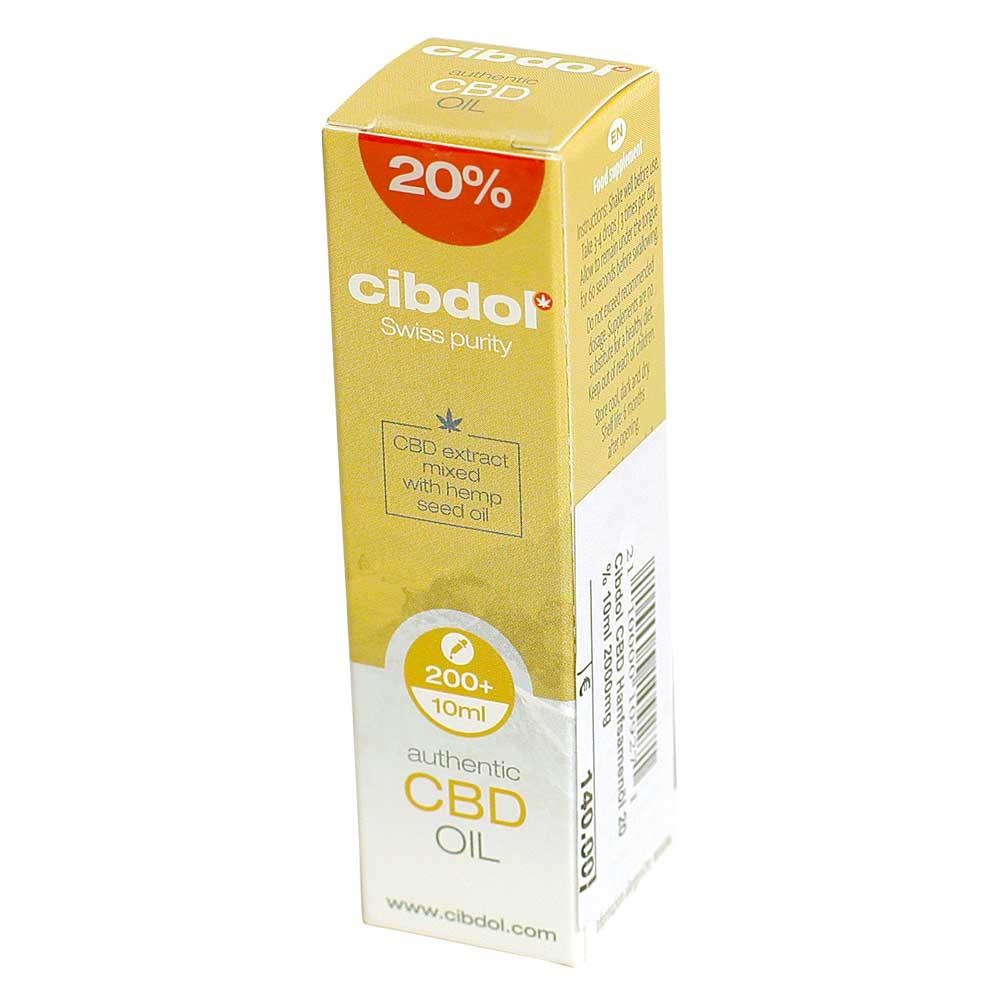 CBD Öl Cibdol 20% Hanfsamenöl 10ml im Preisvergleich