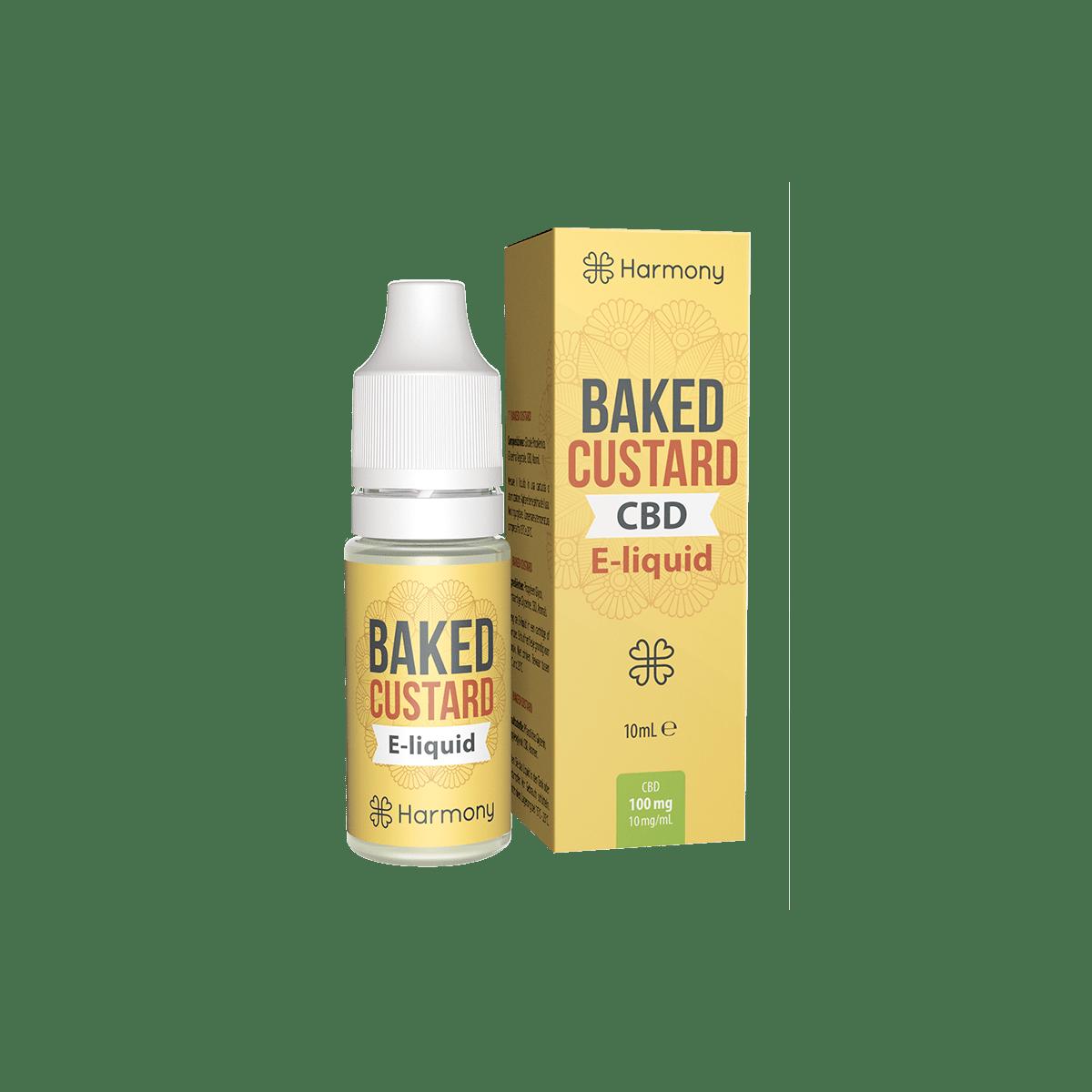 CBD Liquid | HARMONY - Baked Custard | Menge 10 ml - 100 mg im Preisvergleich
