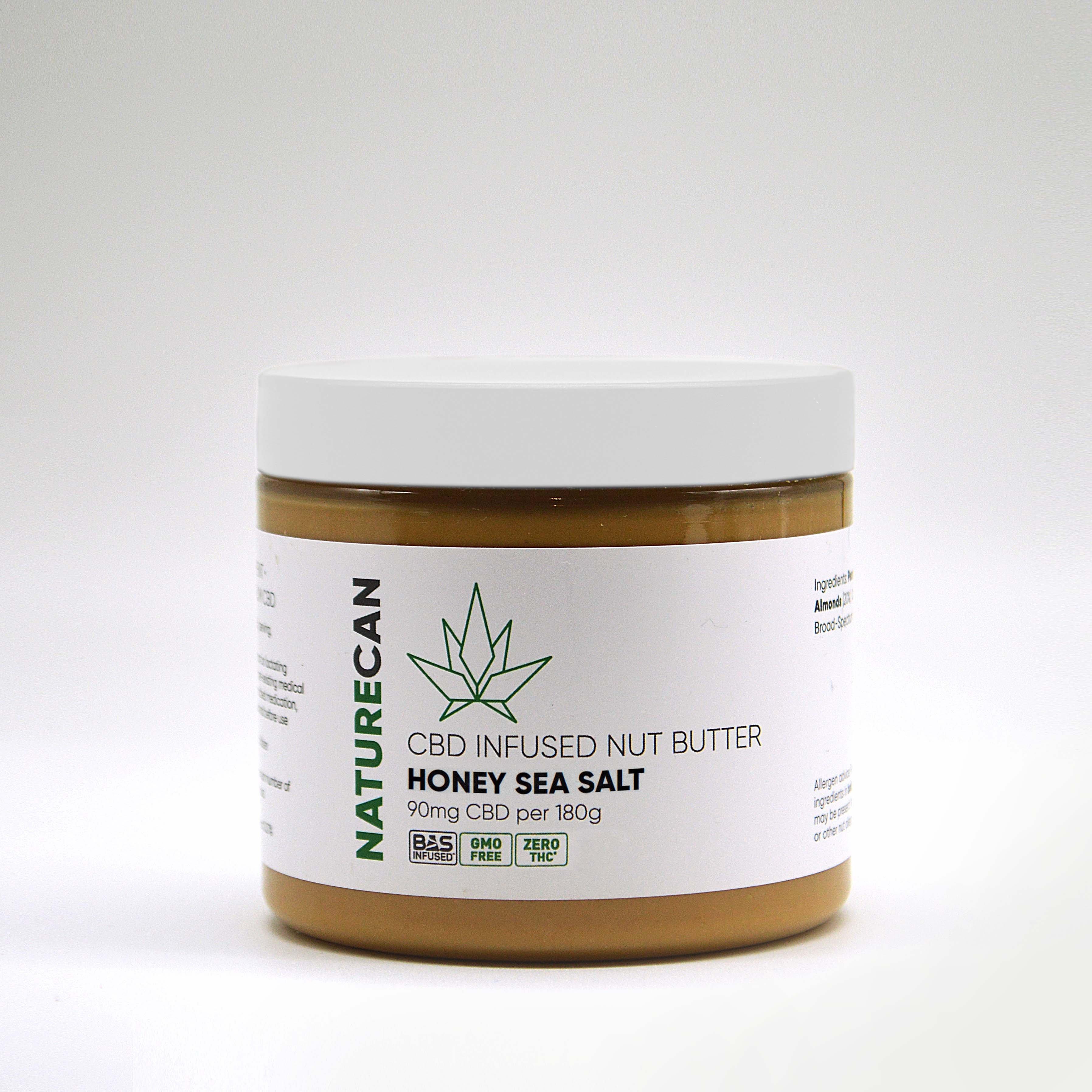 Erdnussbutter Honig Meersalz - Naturecan