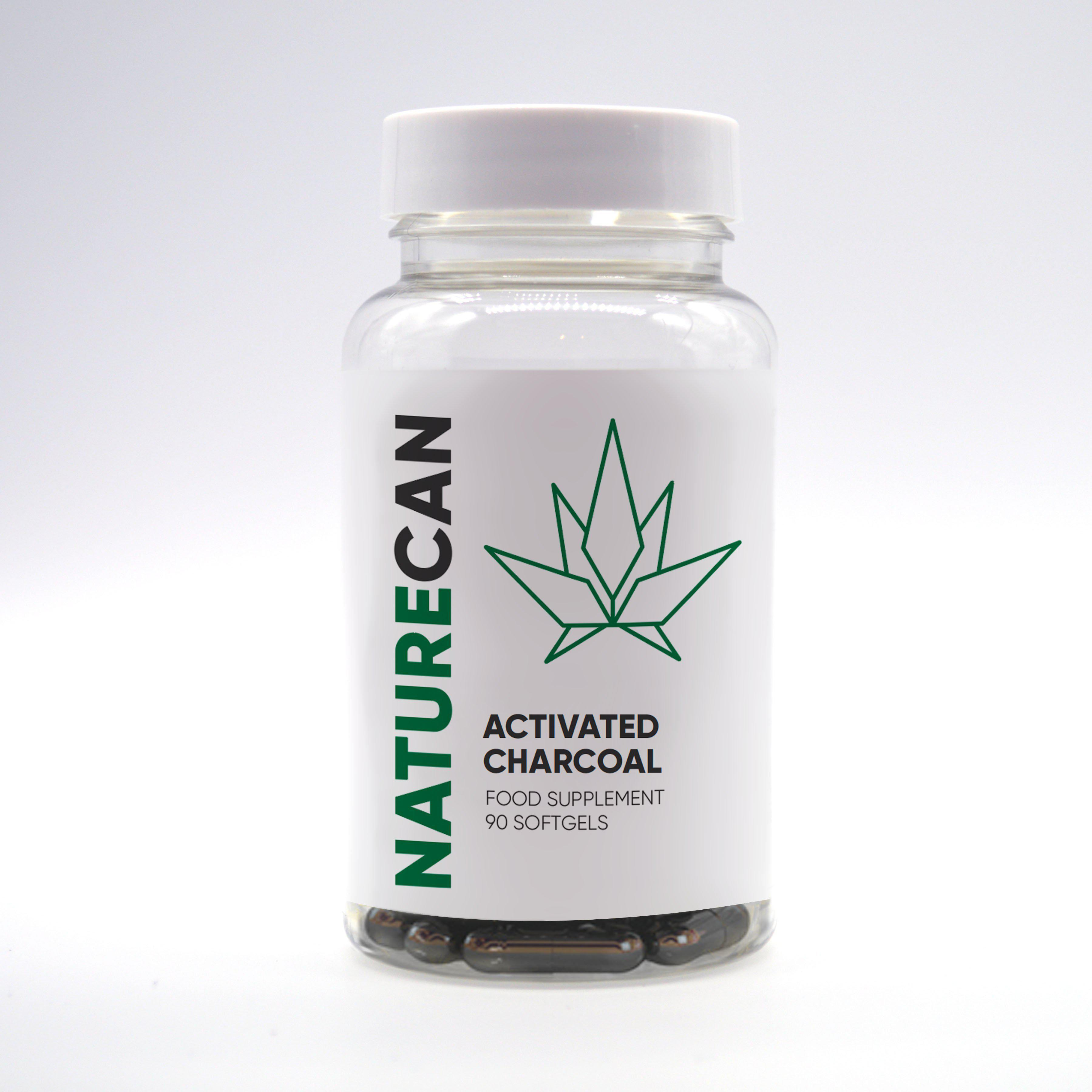 Kapseln Aktivkohle - Naturecan