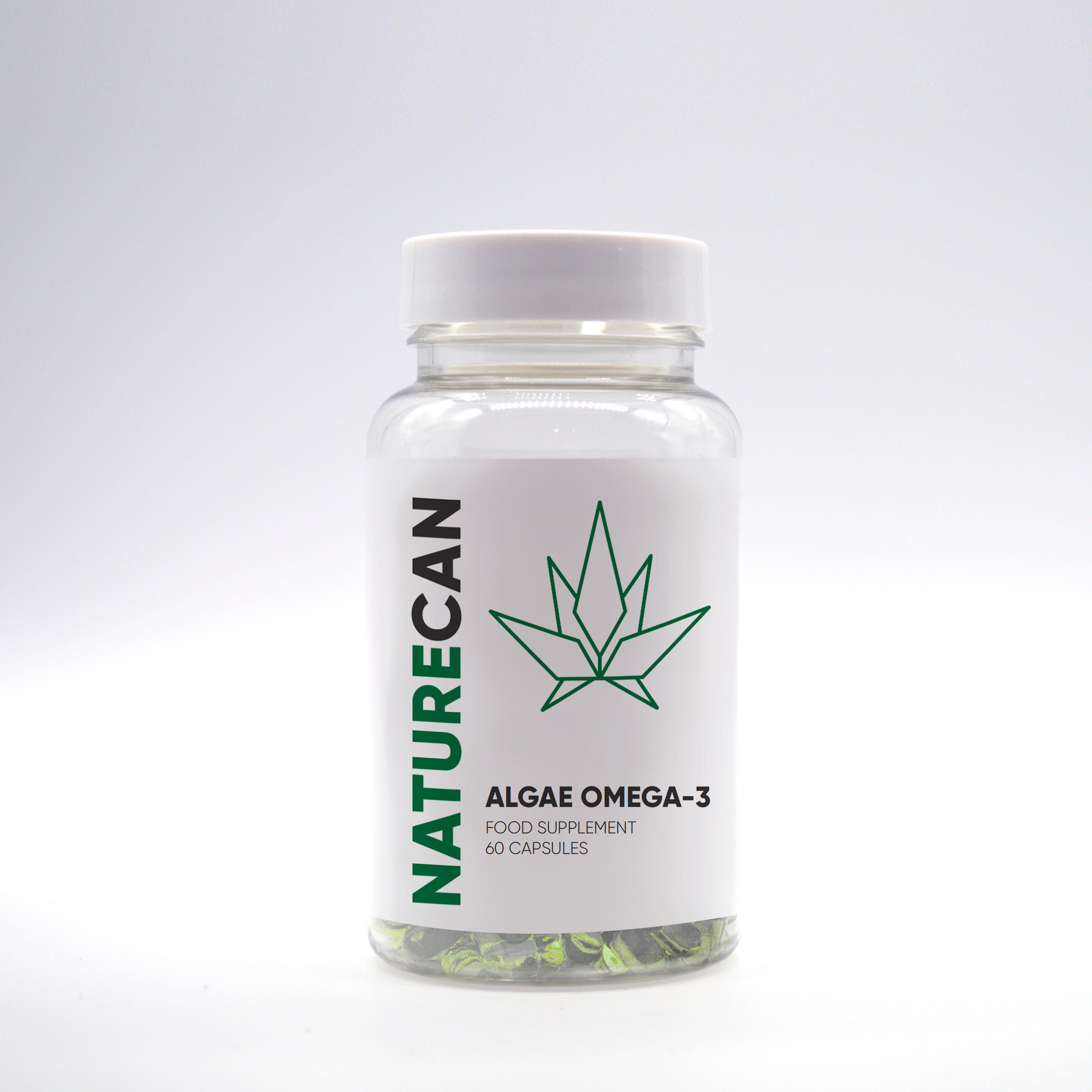 Kapseln Vegan Omega-3 - Naturecan