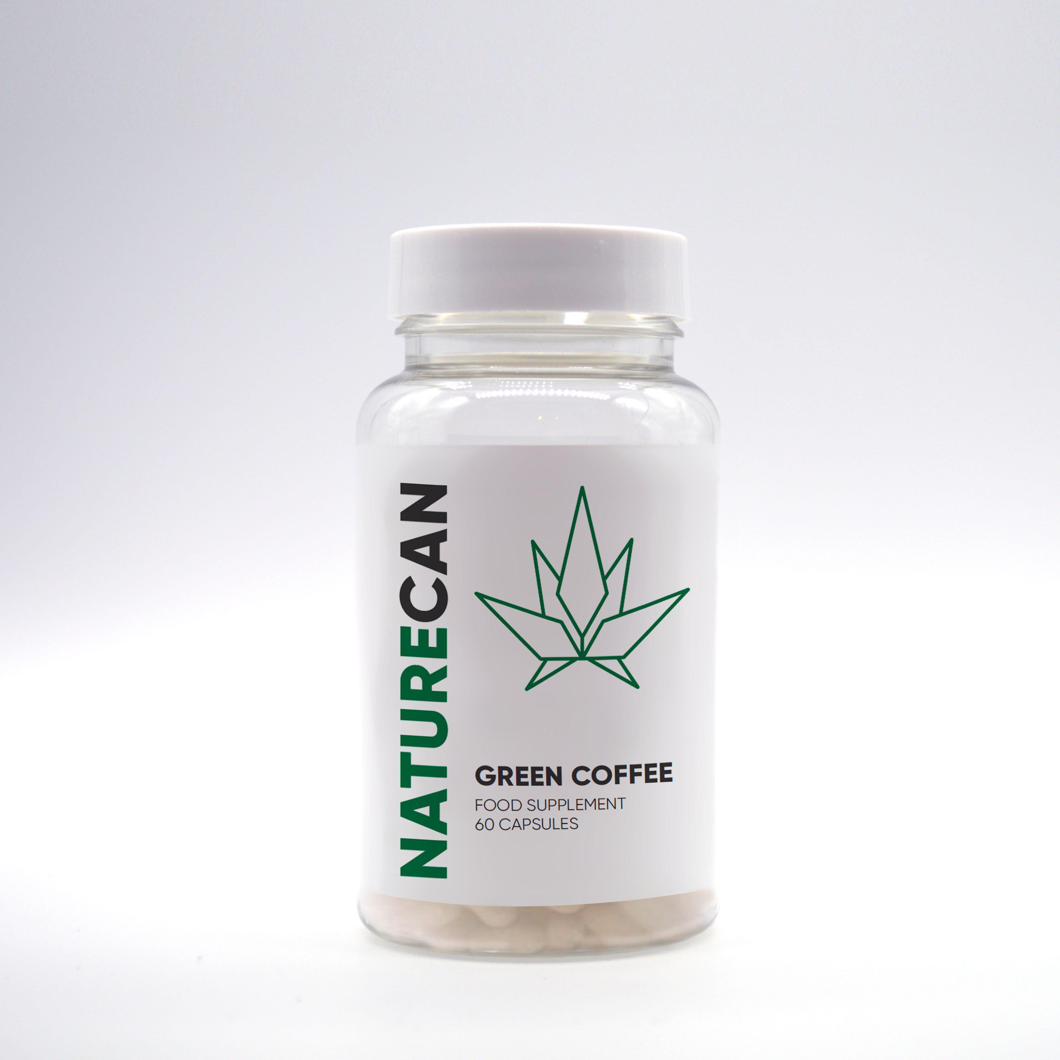 Kapseln Rohkaffee Extrakt - Naturecan