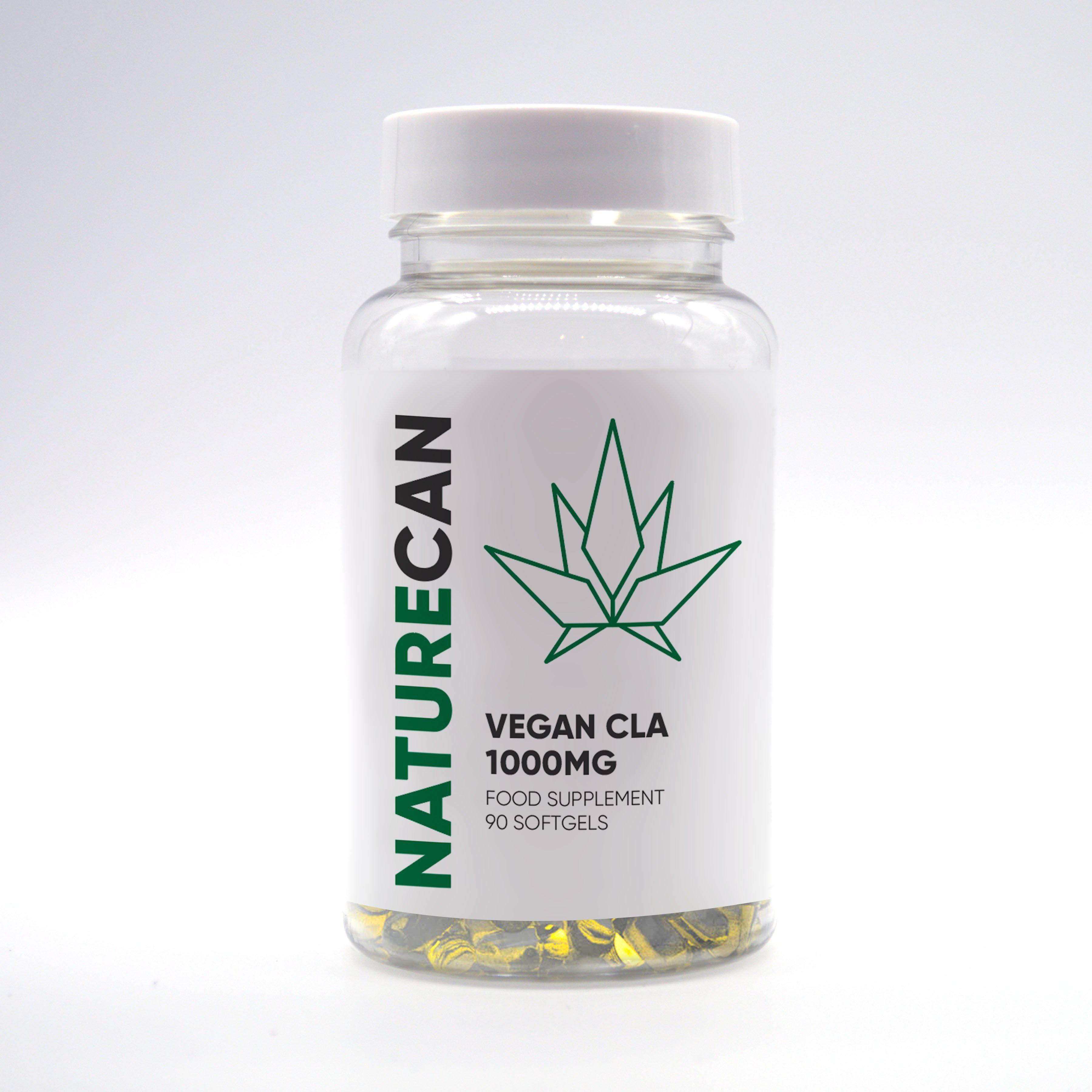 Kapseln Vegan CLAs - Naturecan