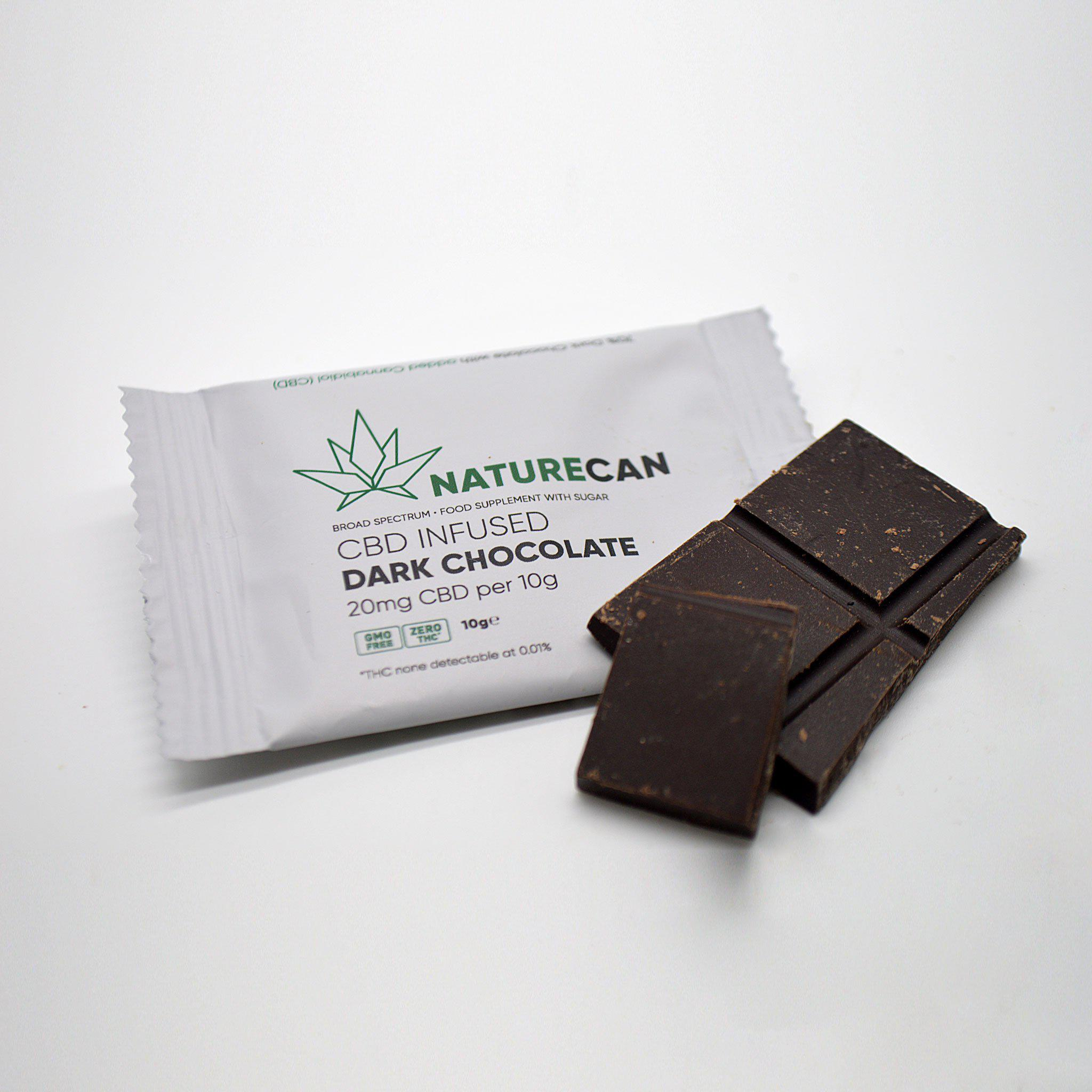 Schokolade Dunkel - Naturecan