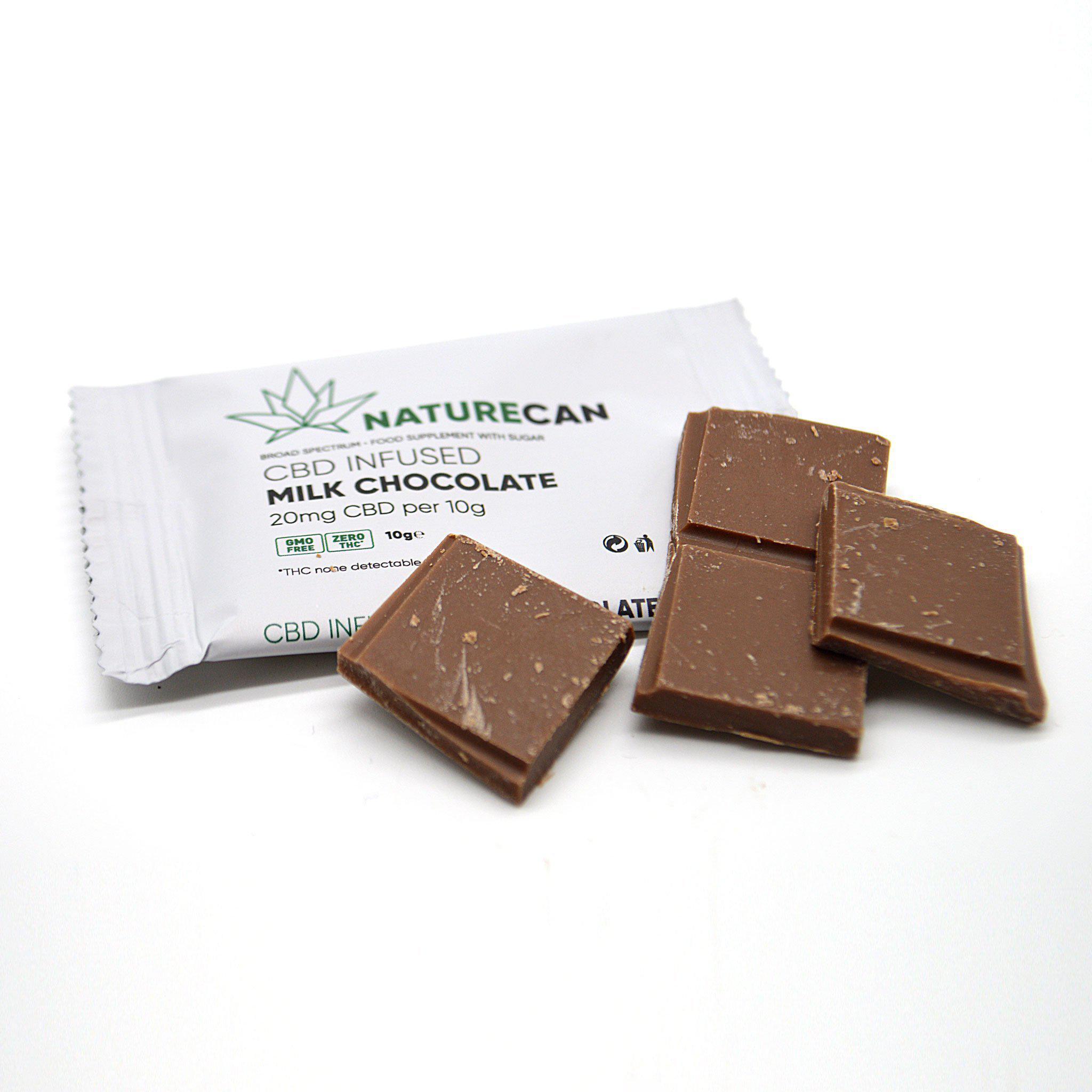 Schokolade Milchschokolade - Naturecan