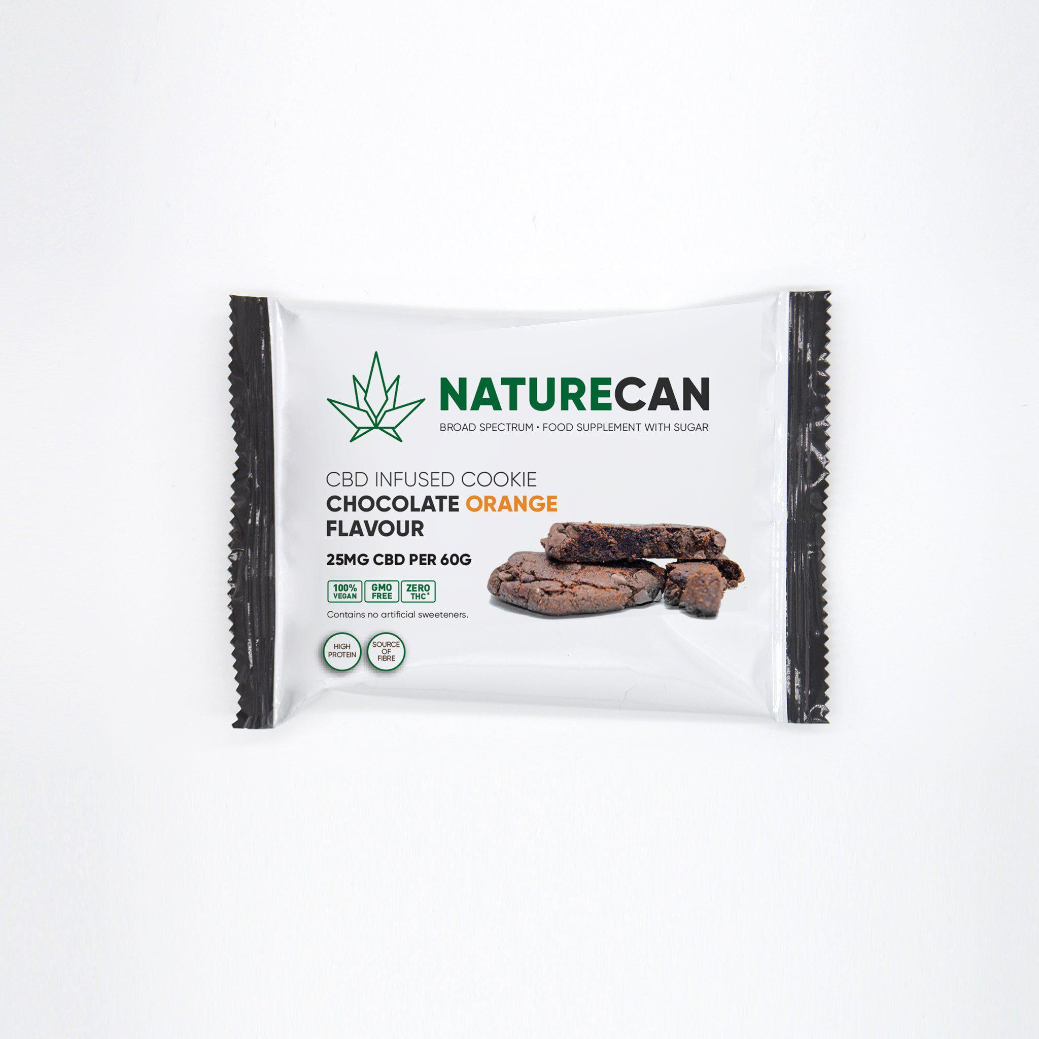 Cookie Schokolade-Orange - Naturecan