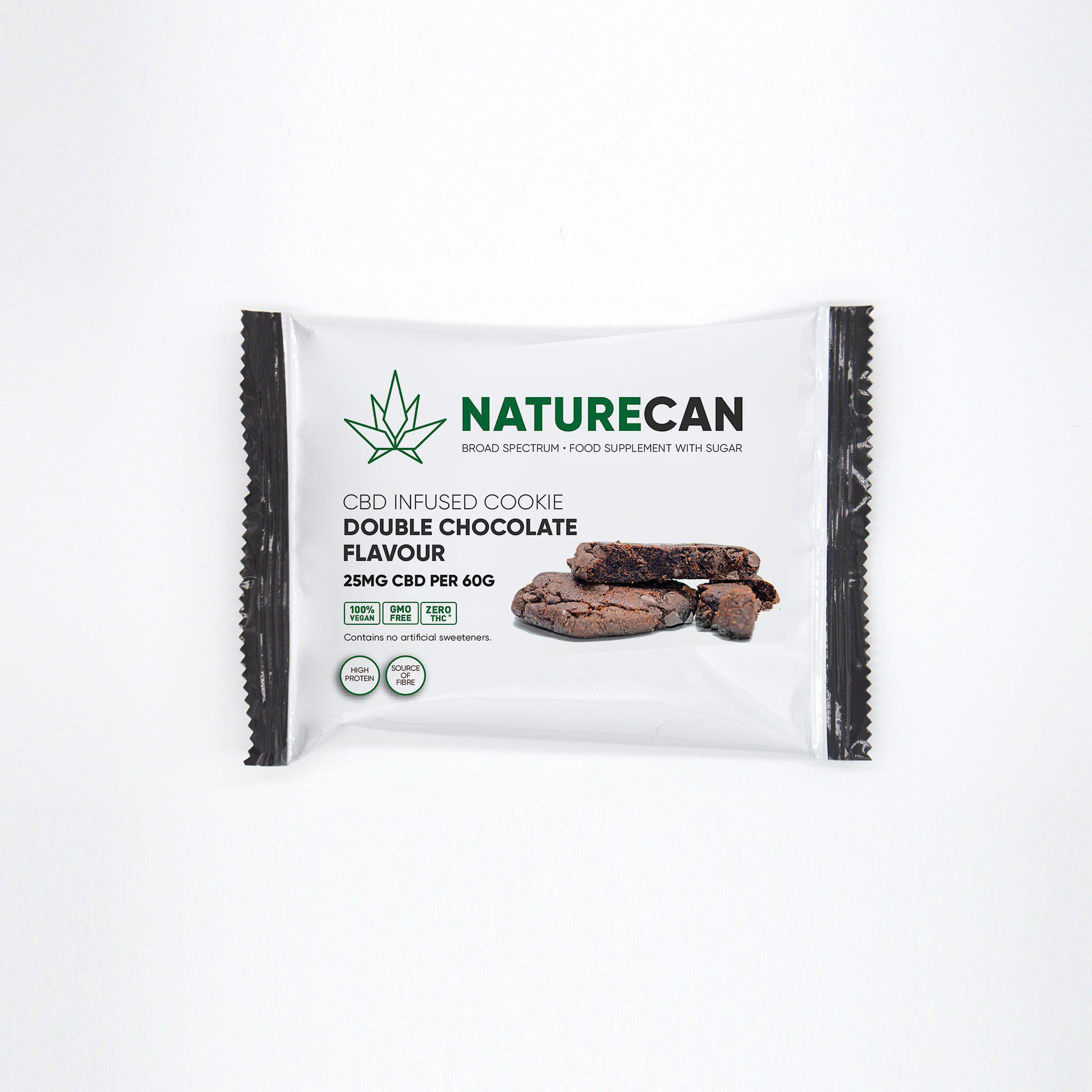 Cookie Double Chocolate - Naturecan