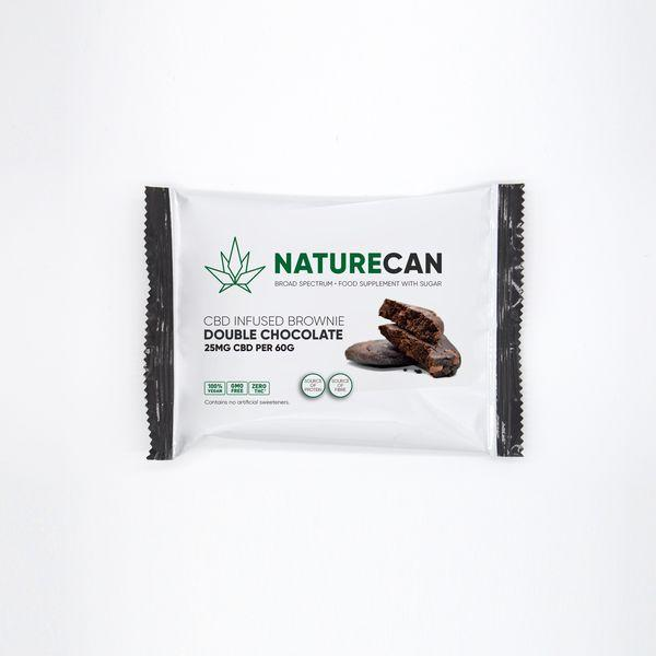 Brownie Double Chocolate - Naturecan