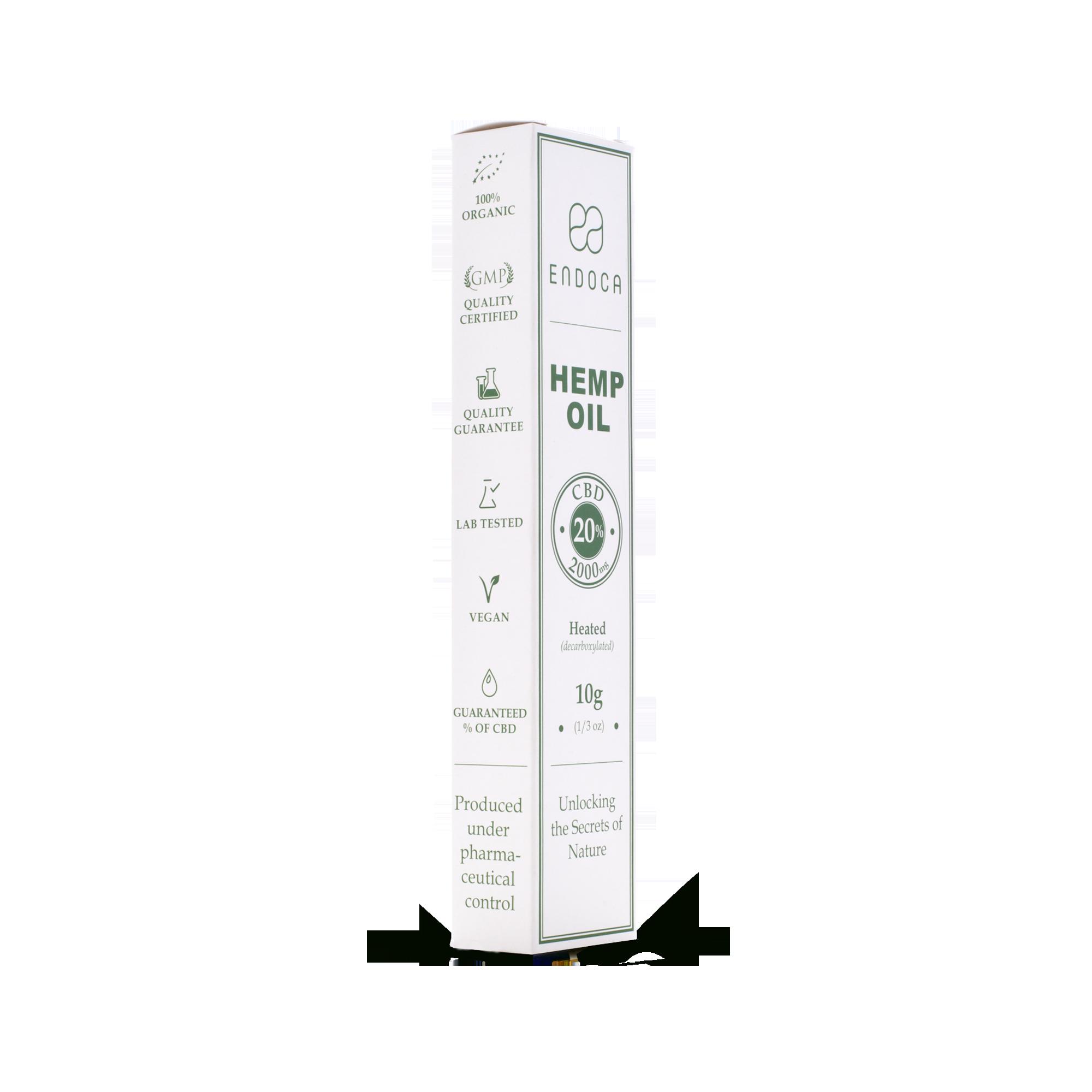 CBD Paste Hemp Oil 20% | 10 ml | 2000mg CBD | Endoca im Preisvergleich