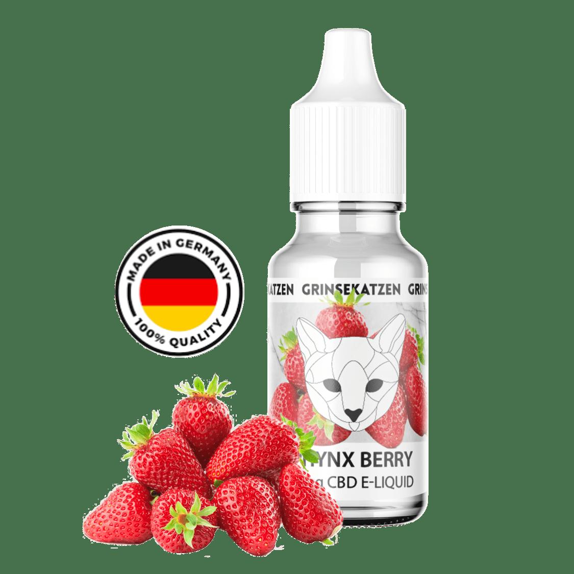 Liquid 400mg Sphynx Berry - Grinsekatze