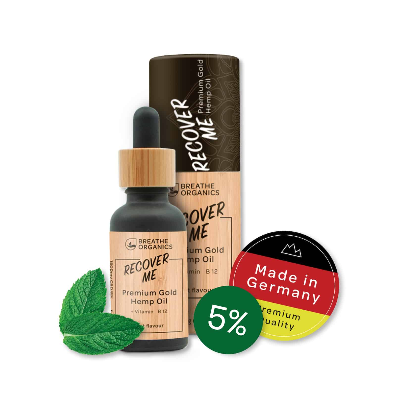 Öl 5% Recover Me - Breathe Organics
