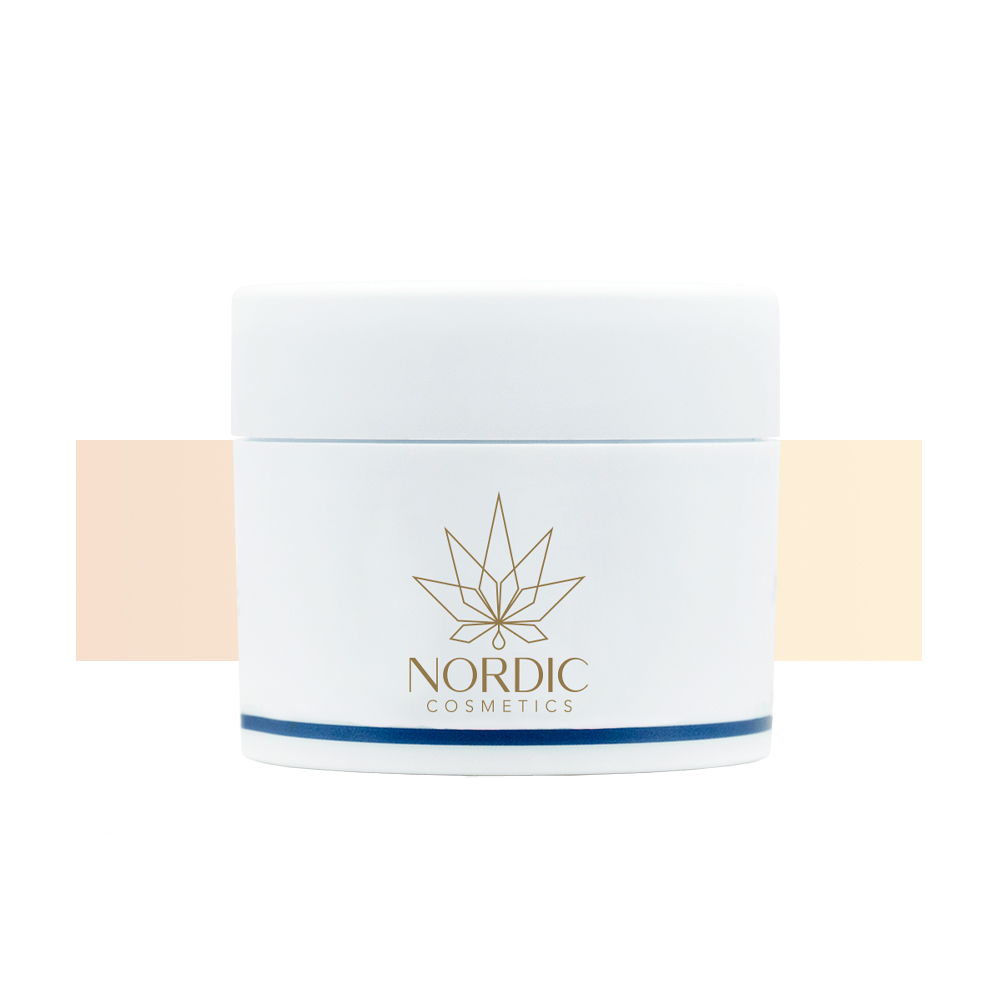 Creme CBD & Vitamin E Nachtcreme - Nordic Cosmetics