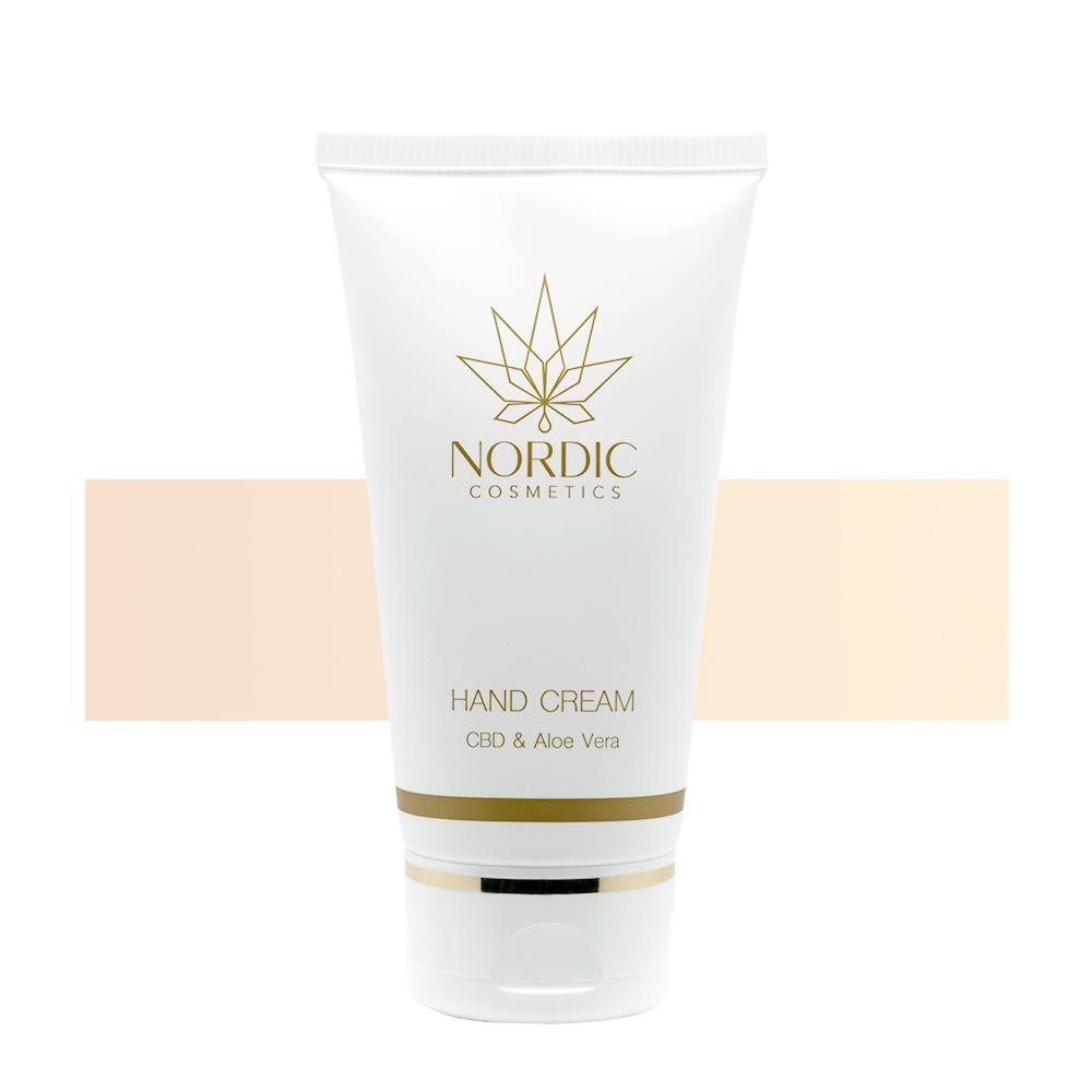 Handcreme CBD & Aloe Vera - Nordic Cosmetics