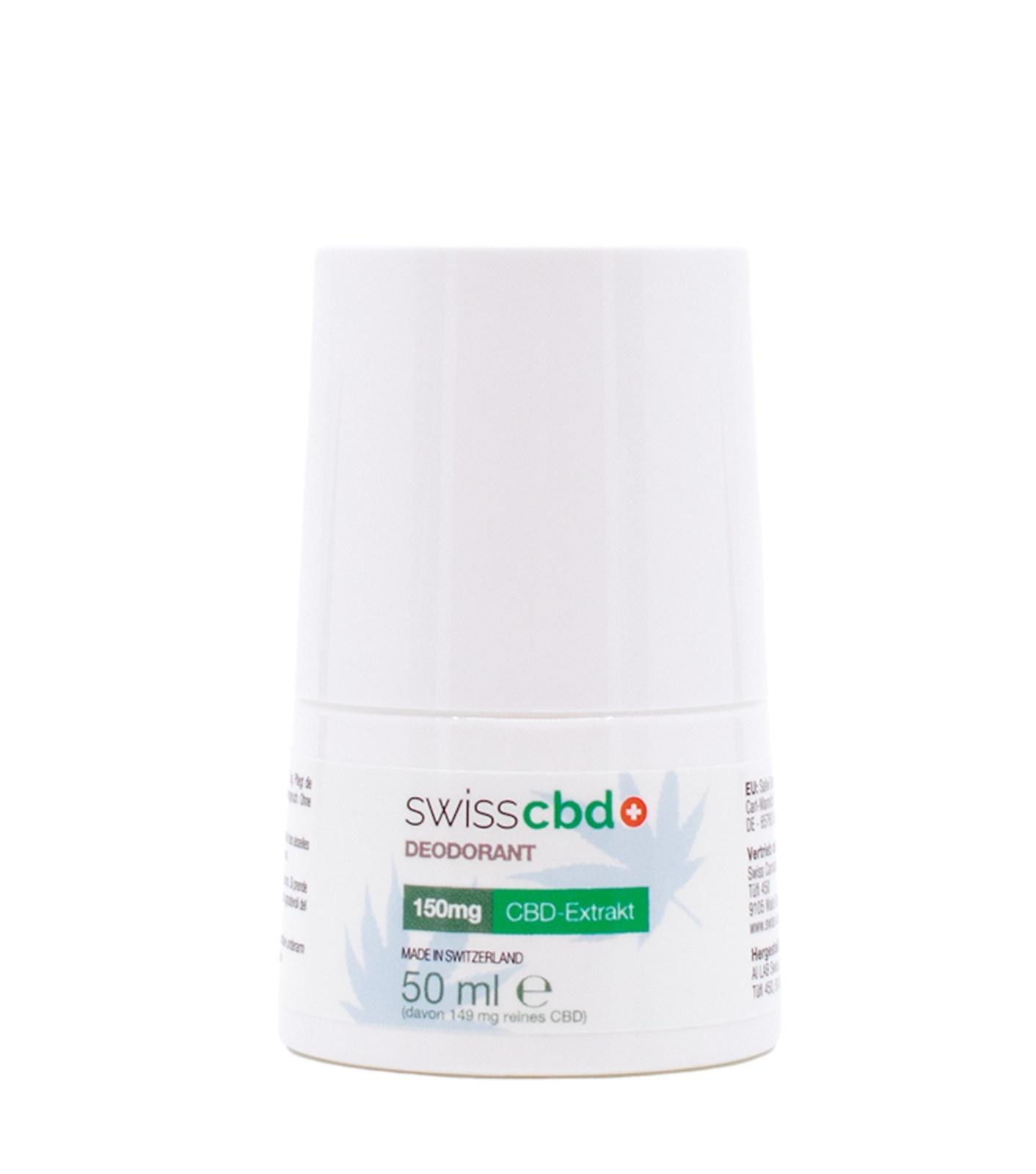 Deodorant - SwissCBD
