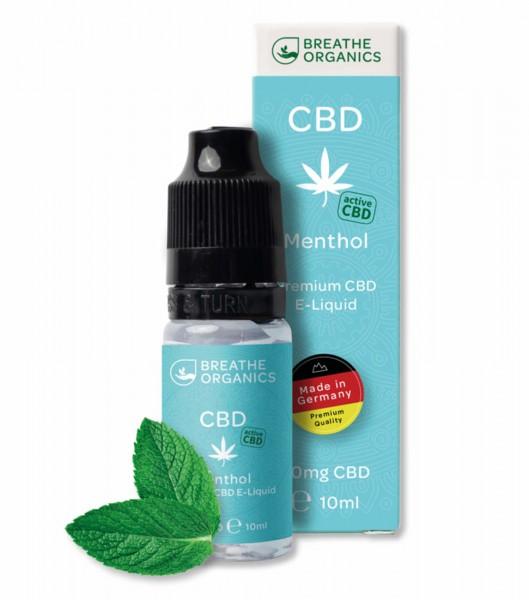 Liquid 100mg Menthol - Breathe Organics