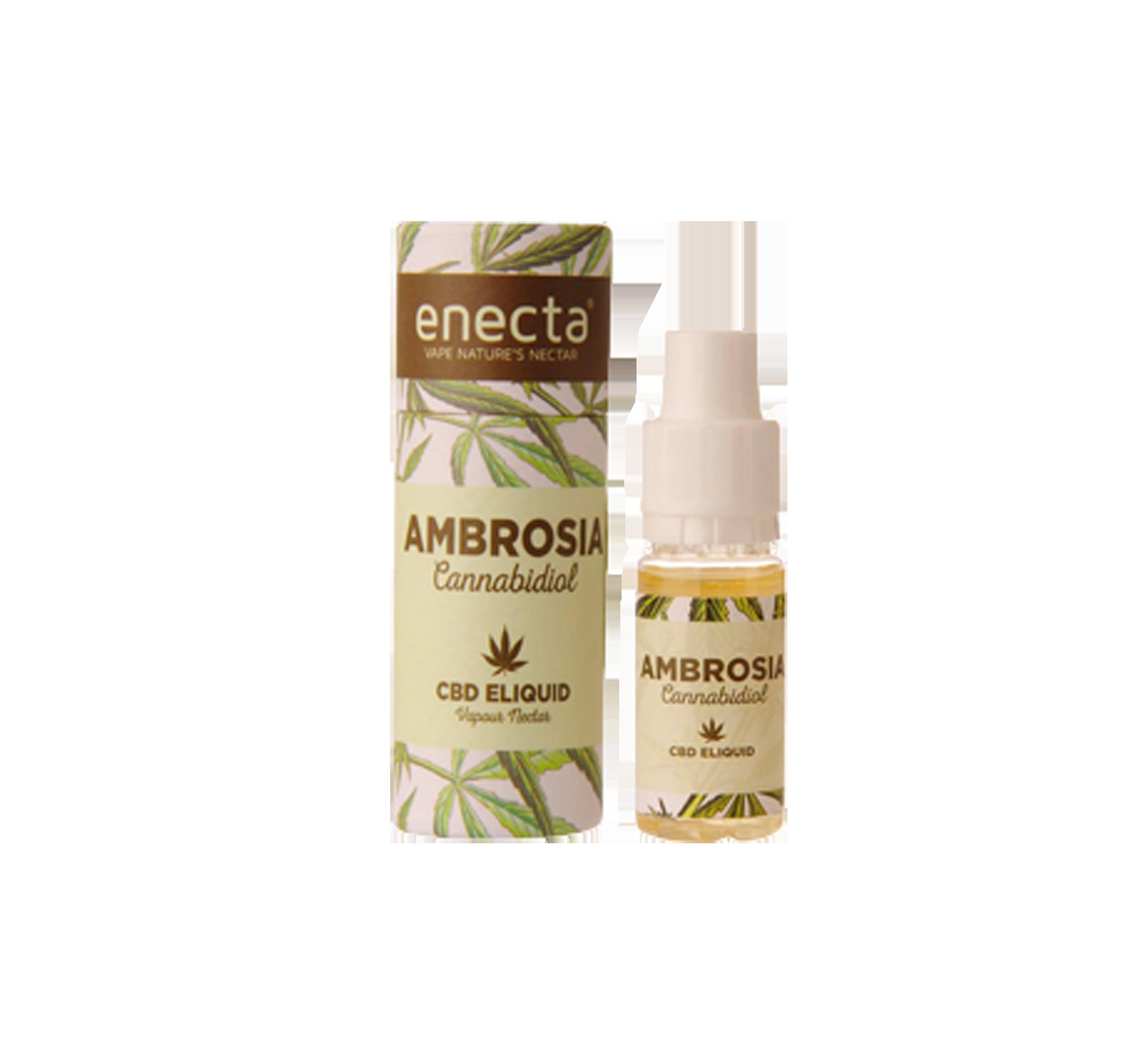 CBD-Liquid Ambrosia Tabacco | 10 ml mit 20 mg CBD im Preisvergleich