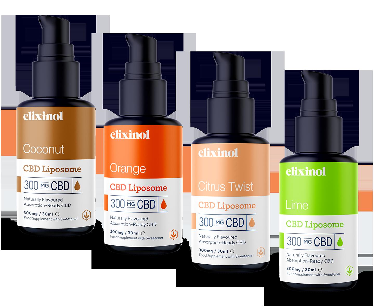 Öl 300mg Orange - Elixinol