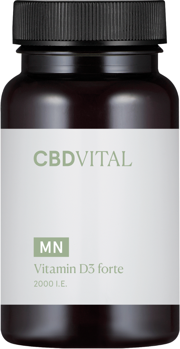 Kapseln Vitamin D3 forte - CBD Vital