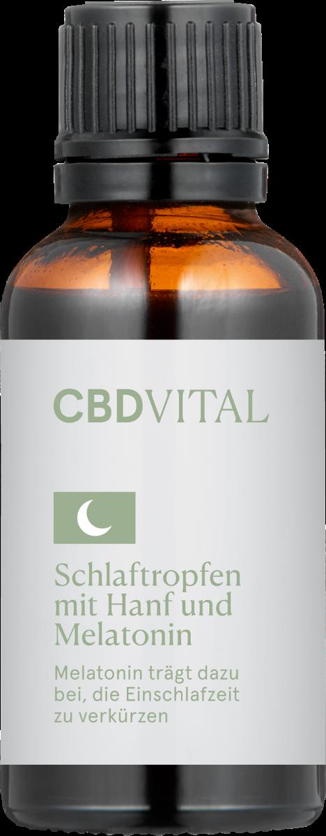 Tropfen Schlaftropfen - CBD Vital