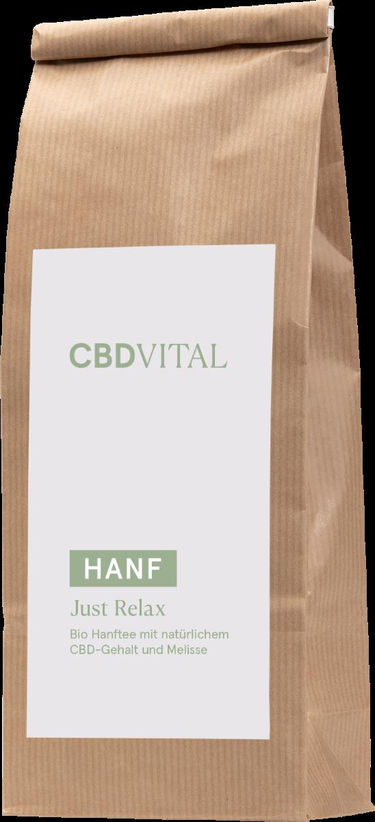 CBD Vital Hanfblütentee Bio 1,9% - just relax im Preisvergleich