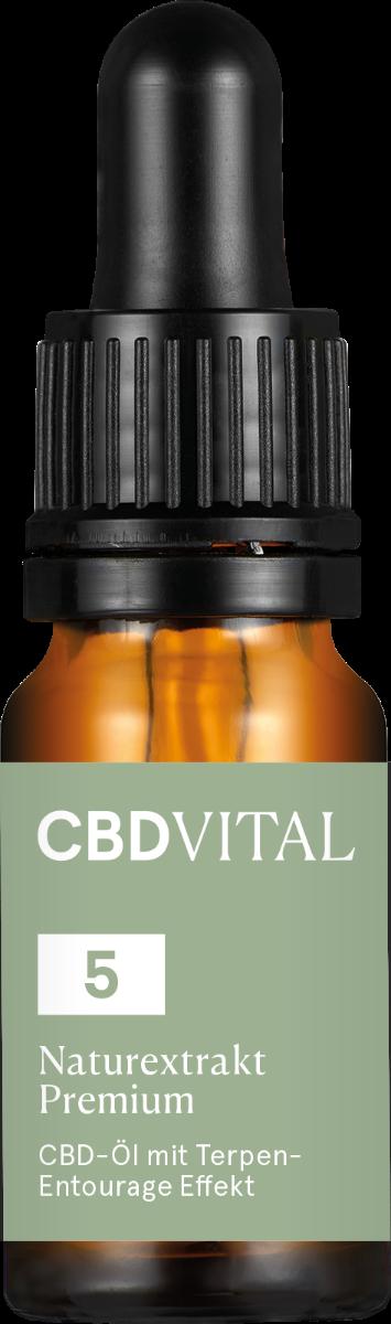 CBD-Vital Naturextrakt PREMIUM Öl 5% im Preisvergleich
