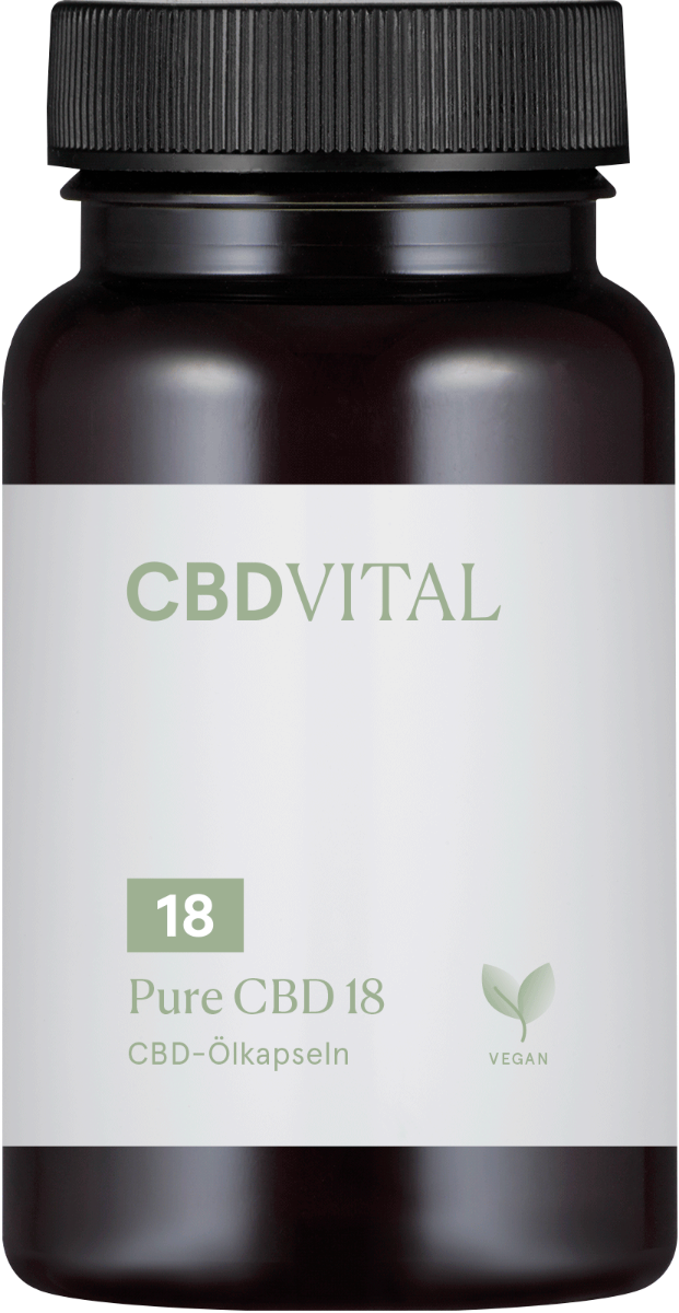 CBD-Vital PURE CBD 18 (10%) Kapseln im Preisvergleich