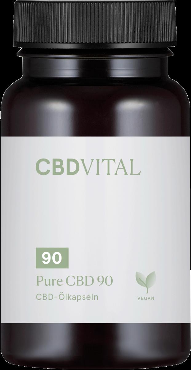 CBD-Vital PURE CBD 90 (18%) - Kapseln im Preisvergleich