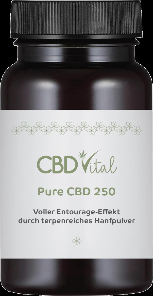 CBD-Vital PURE CBD 250 (50%) - Kapseln im Preisvergleich