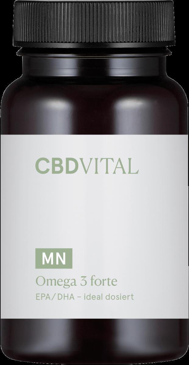 Kapseln Omega 3 forte - CBD Vital