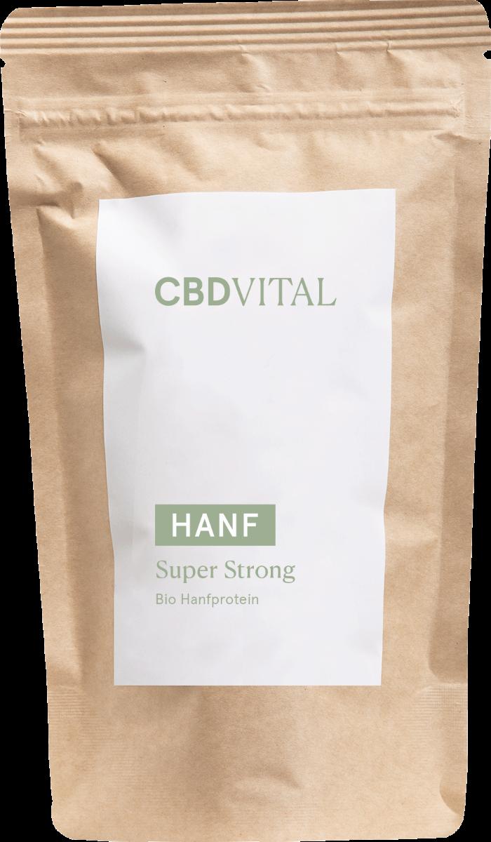 Pulver Super Strong Hanfprotein - CBD Vital