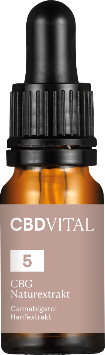 Öl 5% CBG Naturextrakt - CBD Vital