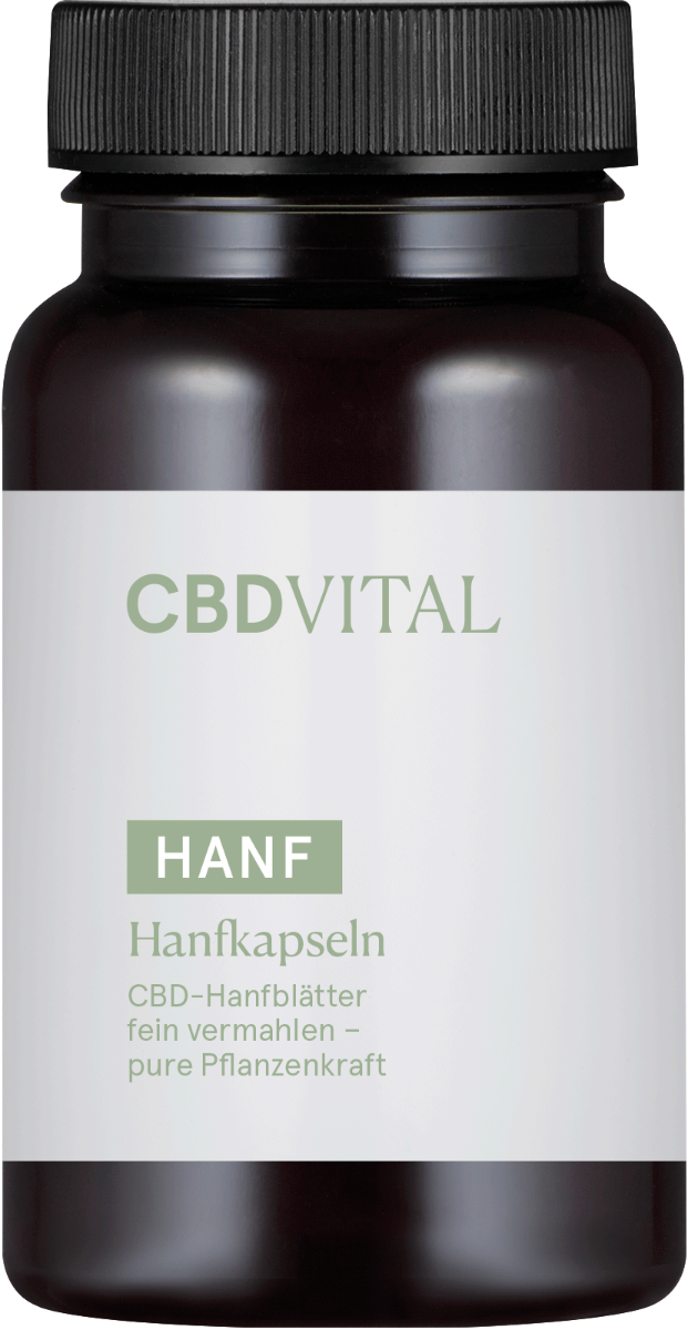 Kapseln Hanf Pur - CBD Vital