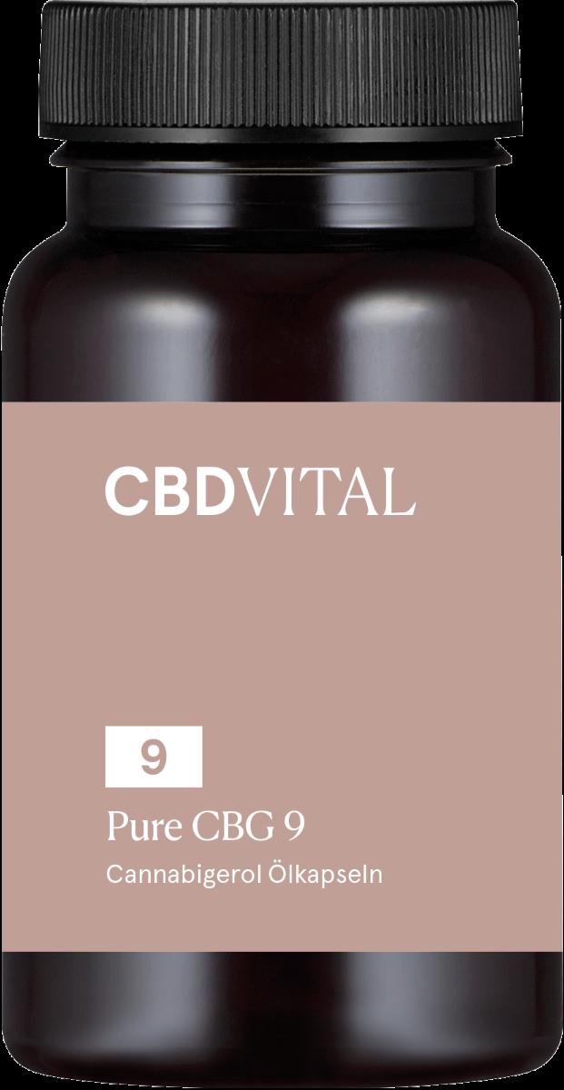 Kapseln 5% PURE CBG 9 - CBD Vital