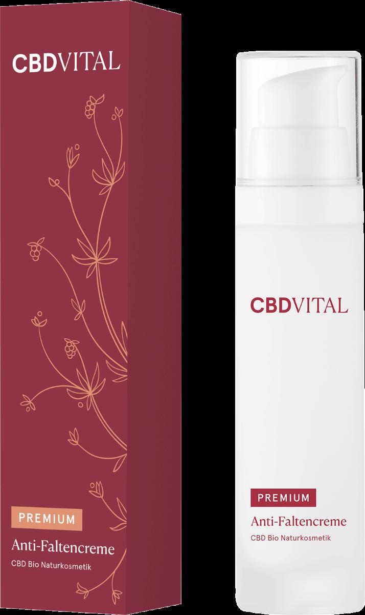 Creme Anti-Falten - CBD Vital