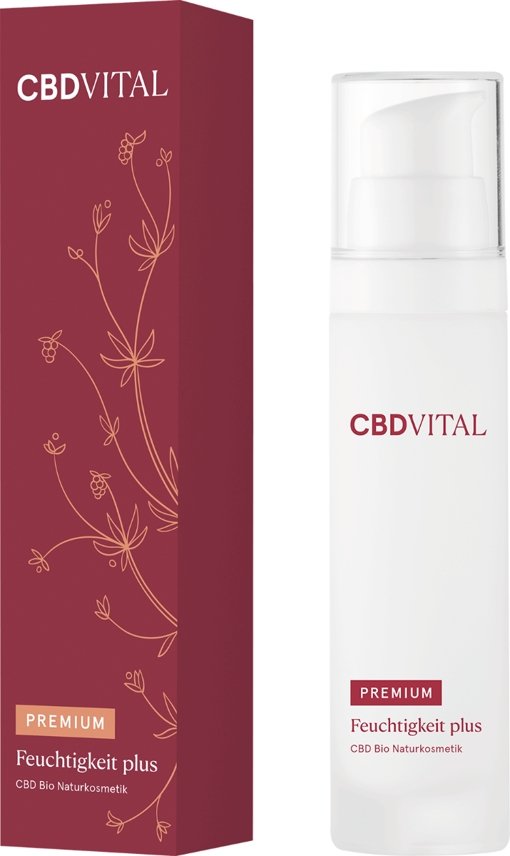 Creme Feuchtigkeit plus - CBD Vital