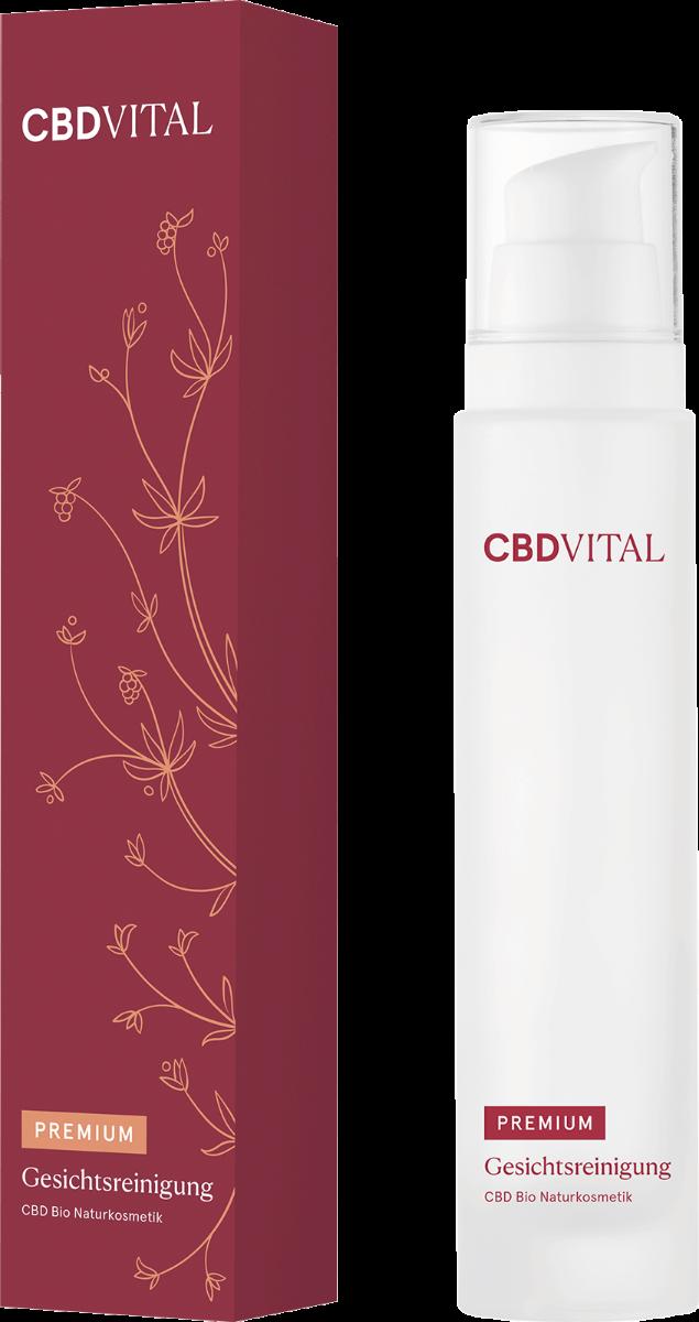 Gesichtsreinigung - CBD Vital