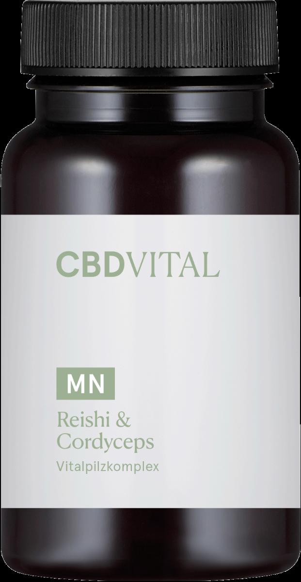 Kapseln Reishi & Cordyceps - CBD Vital