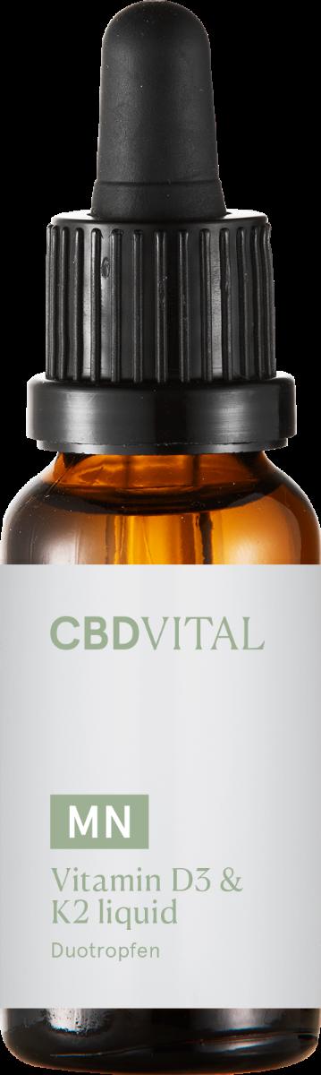 Tropfen Vitamin D3 & K2 - CBD Vital