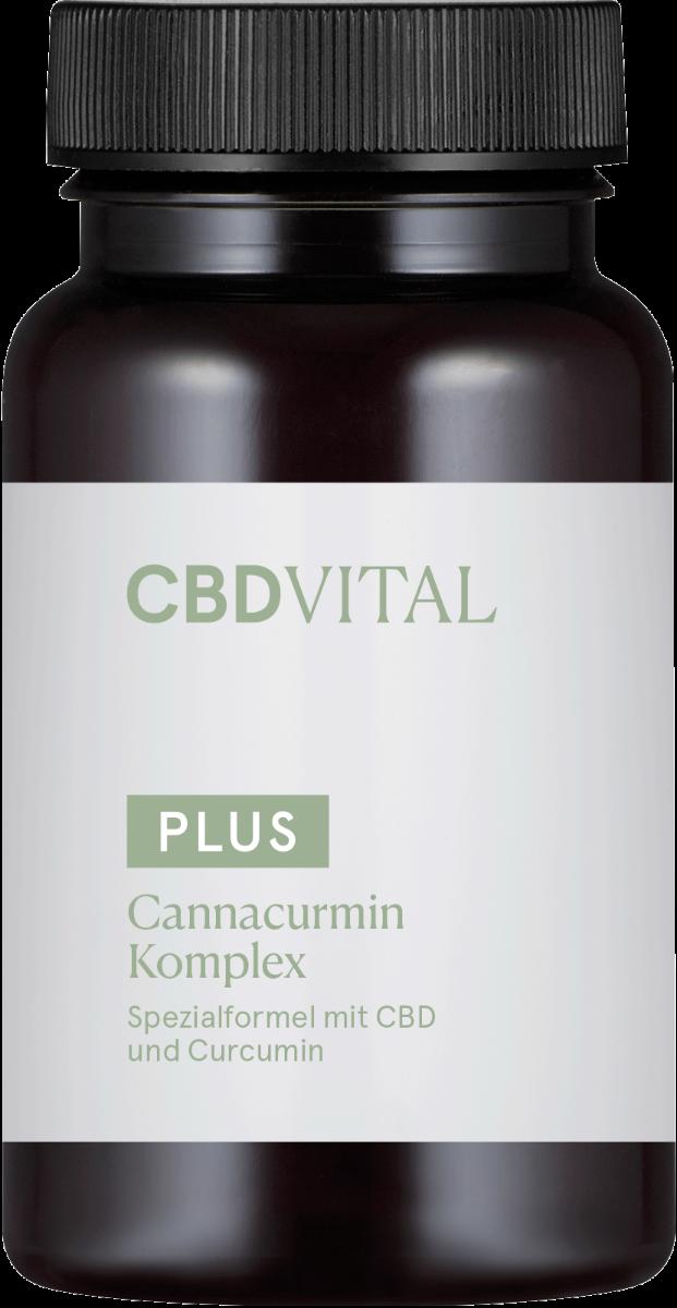Kapseln Cannacurmin Komplex - CBD Vital