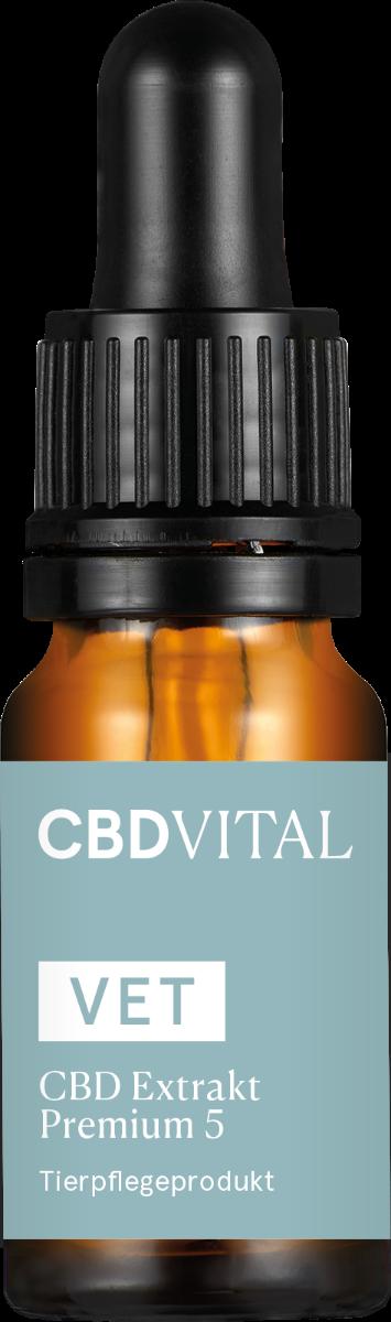 Öl 5% VET Extrakt - CBD Vital