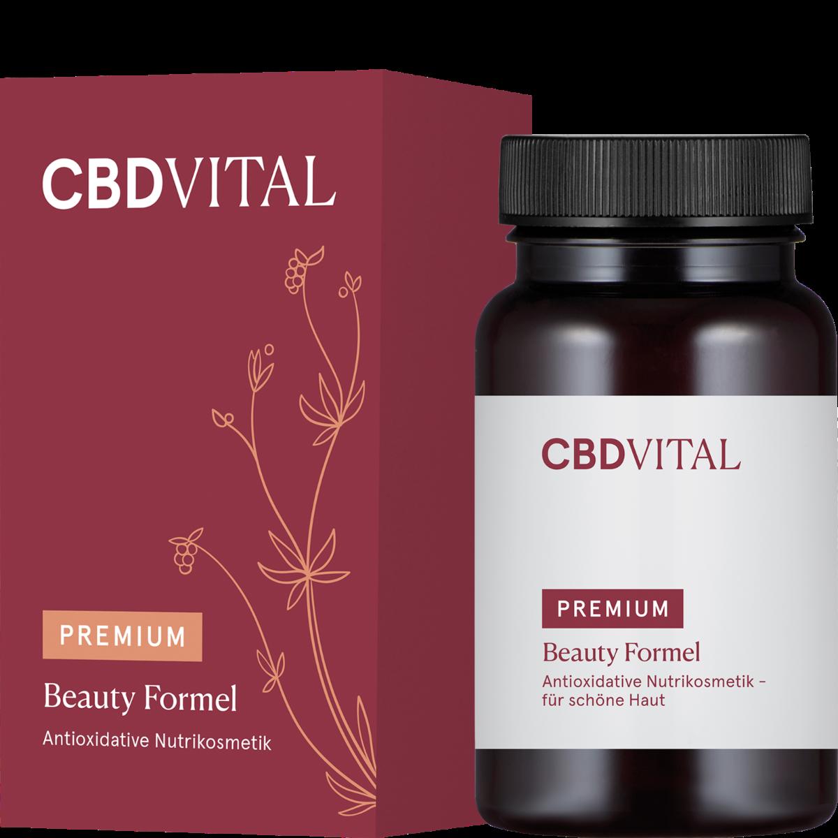 Kapseln Beauty Formel - CBD Vital