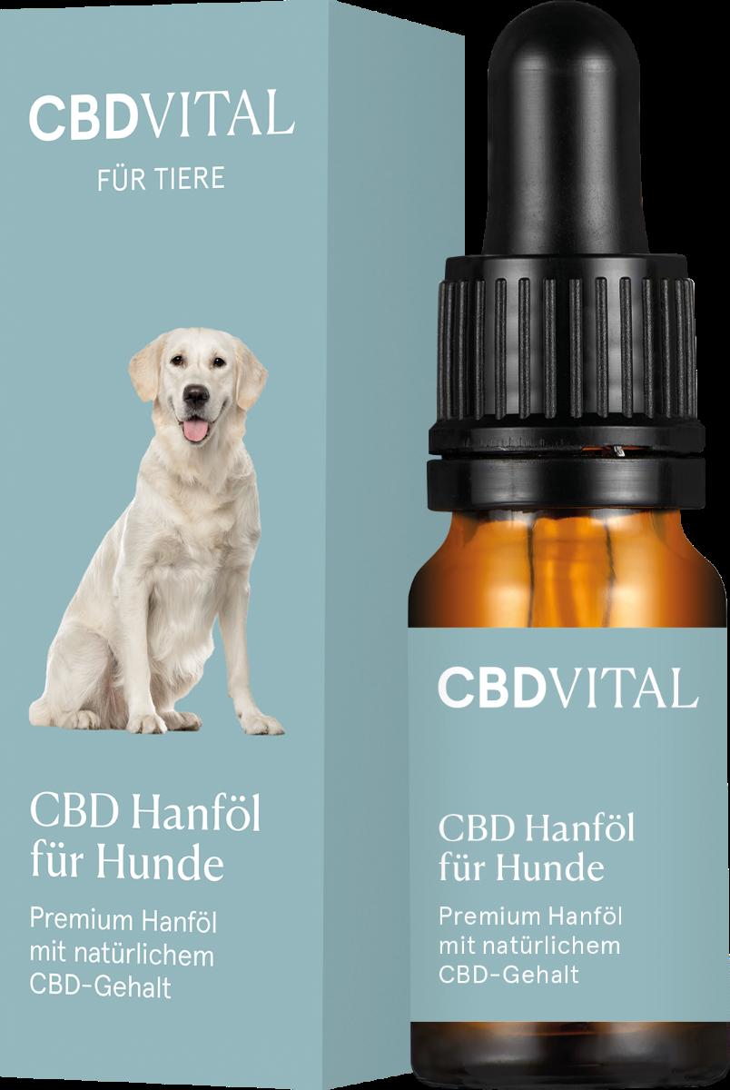 Öl für Hunde - CBD Vital