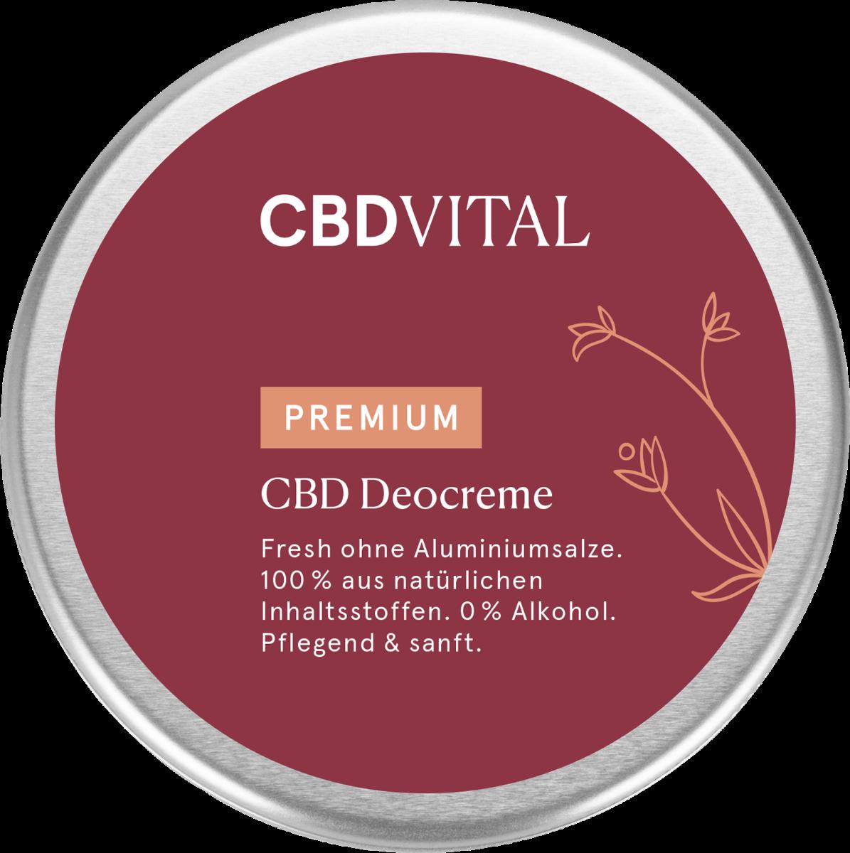 CBD Vital CBD Deocreme