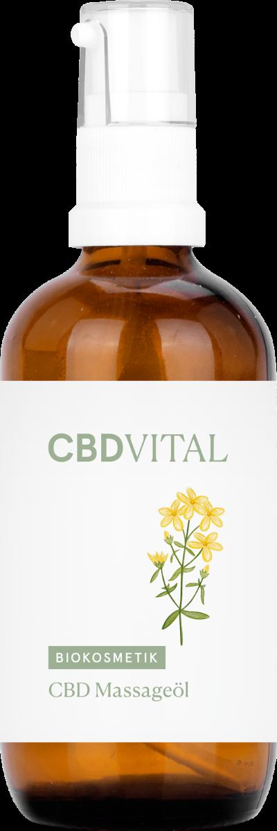 CBD Vital CBD Massageöl