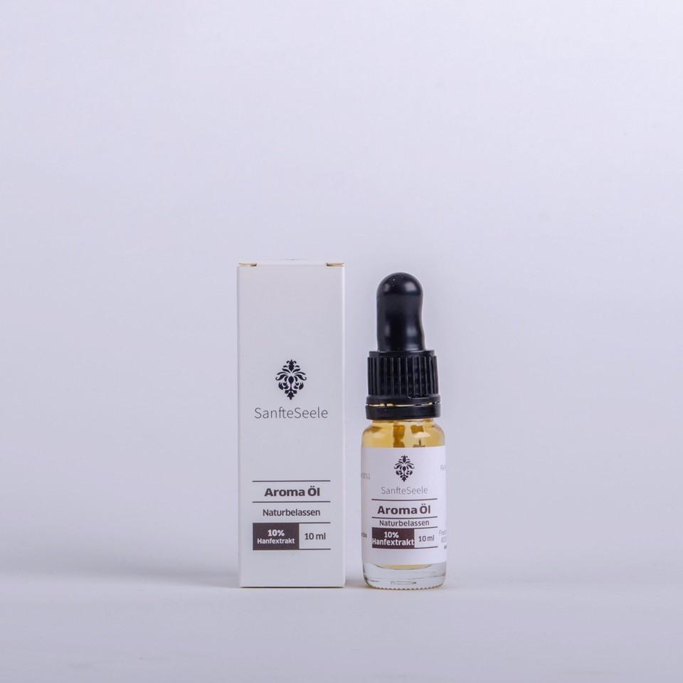 Sanfte Seele 10% CBD mit Bio-Hanföl 10ml