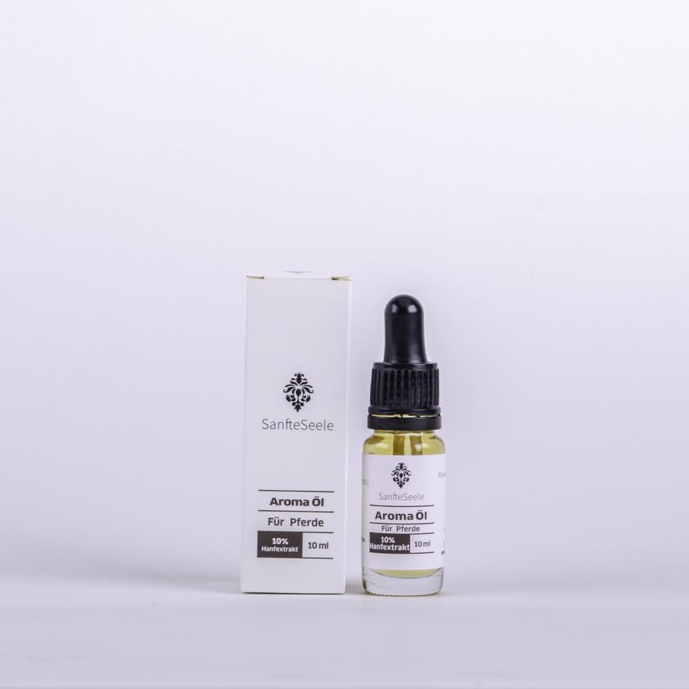 Sanfte Seele 10% CBD Aroma Öl Naturbelassen für das Pferd 10ml